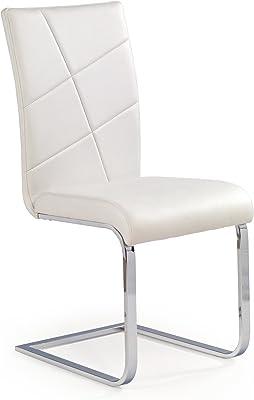 CARELLIA Lote de 2 sillas Design – Color Blanco