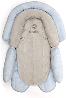 Diono Cuddle Soft, 2-in-1 Head Support, Grey/Blue