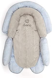 Diono 2-in-1 Head Support - Cuddle Soft, Grey/Blue