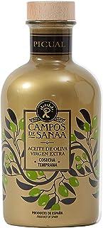 CAMPOS DE SANAA .- Aceite de Oliva Virgen Extra Cosecha temprana variedad Picual (500ml)