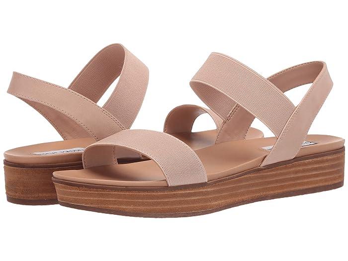 Steve Madden  Agile Flat Sandal (Blush) Womens Shoes