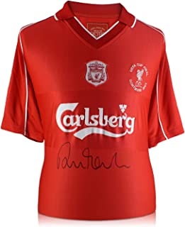 Robbie Fowler Signed 2001 Liverpool Football Shirt