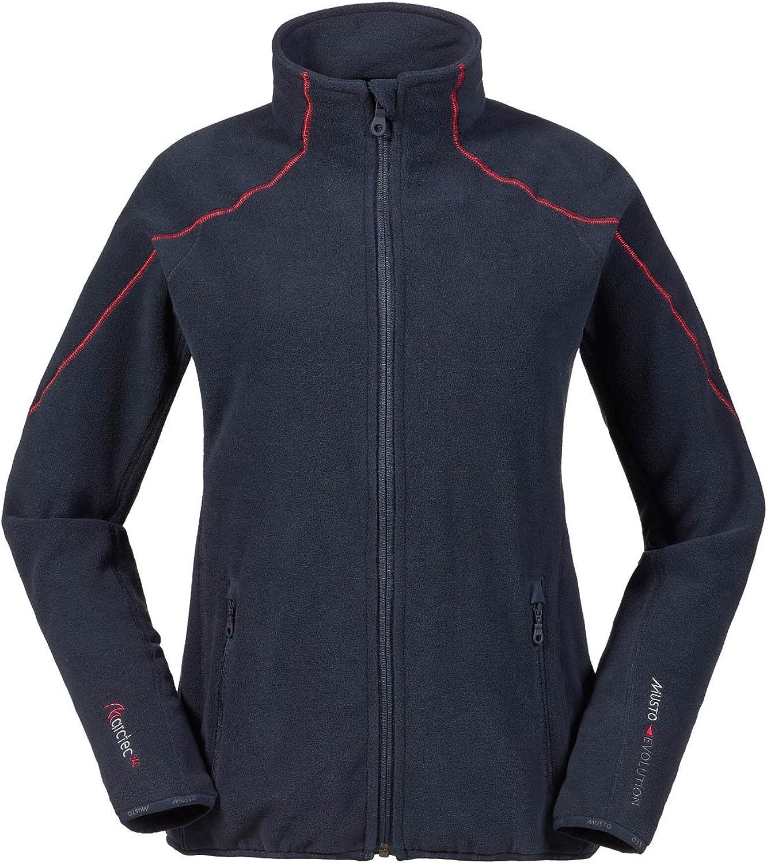 Musto Womens Essential Warm Fleece Coat Jacket Coat True NavyLightweight