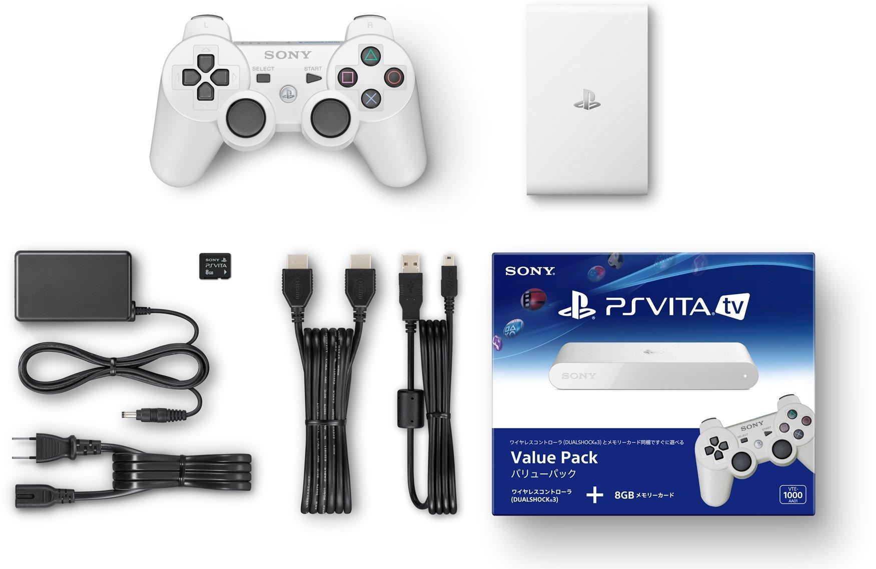 PlayStation Vita TV Value Pack (VTE-1000AA01): Amazon.es: Videojuegos