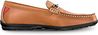 Men's Club Casuals Buckle Loafers-Previous Season Style Golf Shoes
