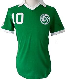 Umbro Cosmos New York Retro Pelé Shirt Green