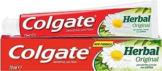 Colgate Herbal, Pasta de dientes, dientes y encías más sanas con ingredientes naturales - 1 ud x 75ml
