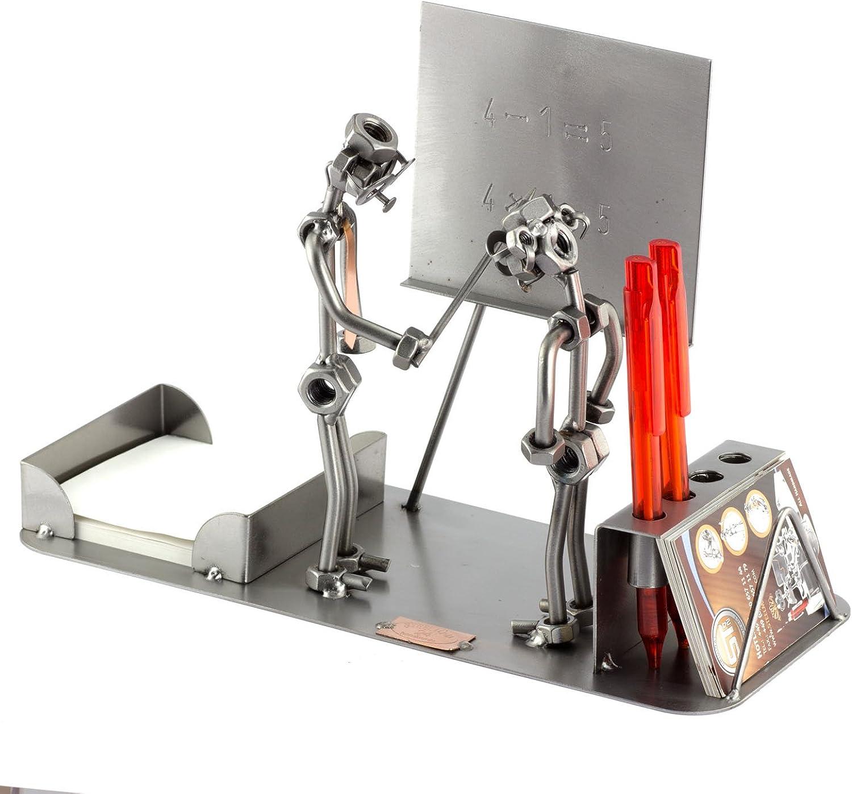 Steelman24 I Schraubenmnnchen Lehrer Büro I Made in Germany I Handarbeit I Geschenkidee I Stahlfigur I Metallfigur I Metallmnnchen