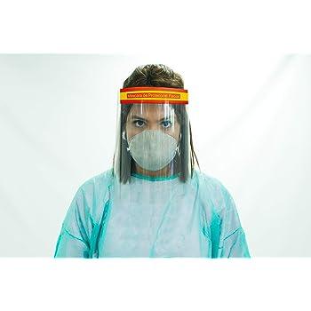 Oedim Pack 10 Uds Pantalla Protección Facial Transparente   Color España: Amazon.es: Hogar