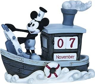 "Precious Moments, Disney Showcase Collection, ""Mickey Mouse Perpetual Calendar"", Resin Figurine, #144707"