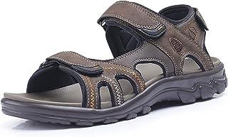 FITORY Sandales de Sport pour Hommes Chaussures de randonnée Ajustables pour Femmes Chaussures de Plage d'été Confortables...
