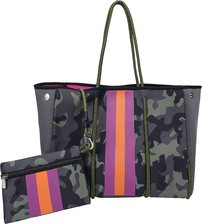 Trymall Beach Bags Cheap Now on sale mail order sales Large Capacity Camo Handbag Waterproof Women