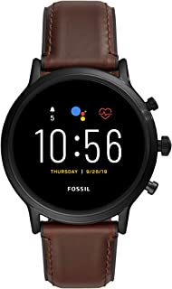 Gen 5 Carlyle Stainless Steel Touchscreen Smartwatch with...