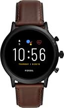 Fossil Gen 5 Carlyle Stainless Steel Touchscreen Smartwatch with Speaker, Heart Rate, GPS, NFC,...