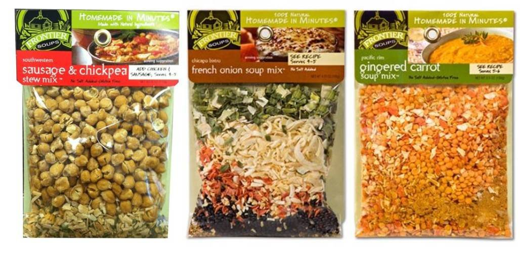 Frontier Soups 100% Natural Soup Discount mail order Mix Raleigh Mall Variety Flavor Bundle: 3 1
