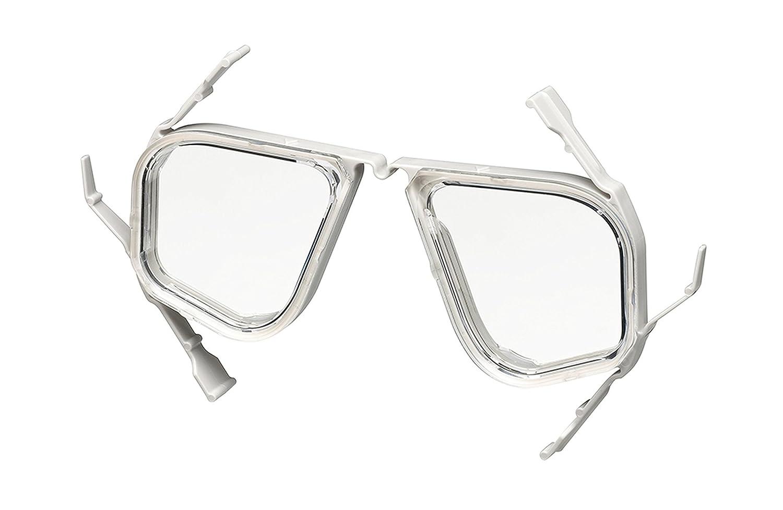 リーフツアラー(REEF TOURER) シュノーケル 度付き レンズ 水中マスク用 フレーム×1個 レンズ×2枚 セット ライトグレー RA0509