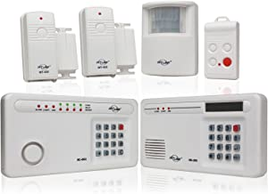 Skylink SC-1000W Complete Wireless Home & Office Burglar Alarm Alert Safety Security System with External Emergency Dialer...