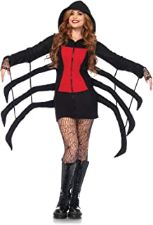 Leg Avenue Women's Cozy Black Widow Spider Halloween Costume