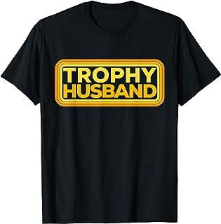 Vintage Retro Funny Trophy Husband Art T-Shirt