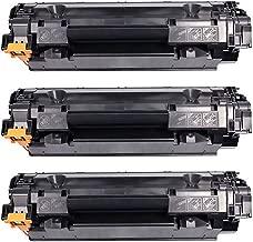 Kit 3x Toner Compatível CB435A CB436A CE285A para HP