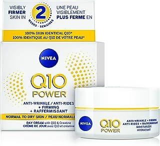 NIVEA Q10 Power Anti-Wrinkle + Firming Face Moisturizer 50 mL, Anti-Aging Cream Fights Wrinkles & Fine Lines, Nivea Face C...