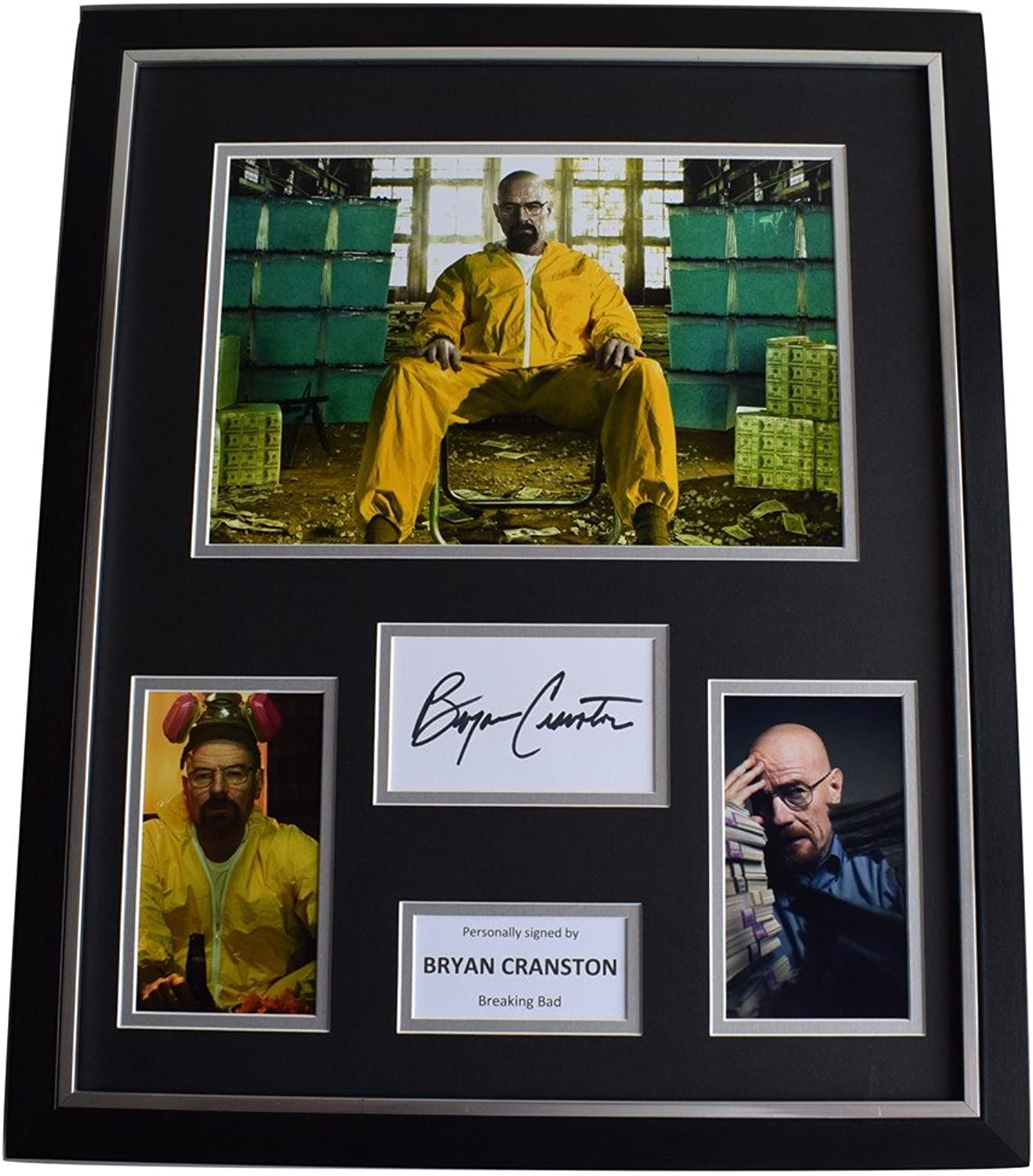 Sportagraphs Bryan Cranston SIGNED Framed Photo Autograph Huge display Breaking Bad TV COA PERFECT GIFT