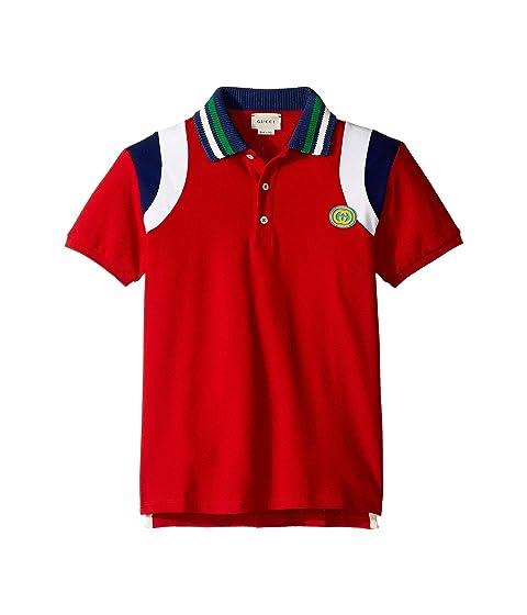 Gucci Kids Polo w/ Contrasts 540637XJAAO (Little Kids/Big Kids)