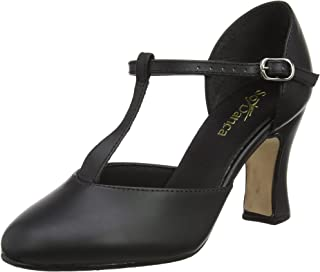 CH98 3'' Heel Smooth Leather Character Shoe