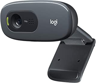 Logitech CAMLOG480 Cámara Web, 3Mp, USB 2.0, Color Negro