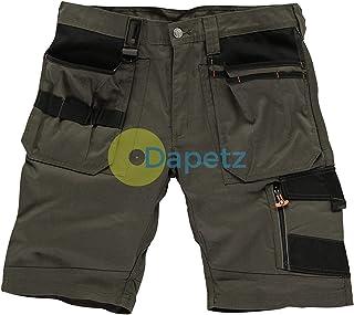 "Dapetz ® Trade Short Slate Size 40"" W YKK Zipped Fly. 65% Polyester, 35% Cotton, 250gsm."