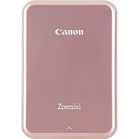 Canon Zoemini Pv-123 - Mini impresora (Bluetooth, USB, 314 x 600 ppp, Canon Mini Print) color rosa