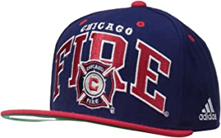 54edf76e adidas MLS Men's Team Name Two Tone Flat Brim Snapback Hat