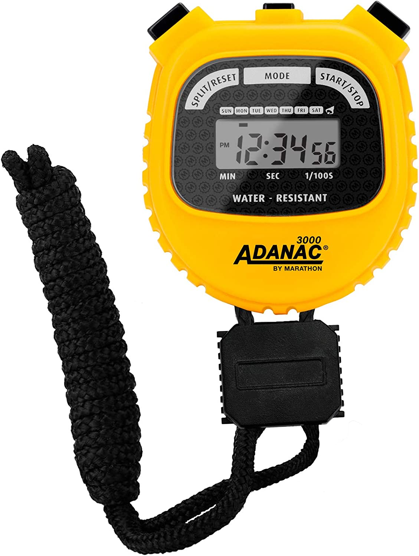 Marathon Adanac 3000 Digital Stopwatch Timer - Acrylic Lens Disp