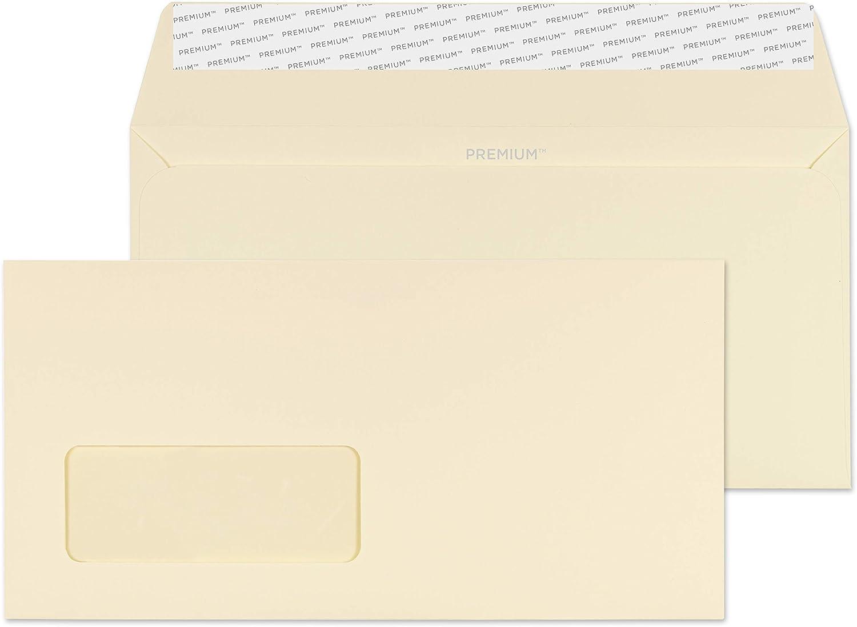 Premium Business Business Business DL 110 x 220 mm haftklebend und Dichtung Fenster Umschlag – parent Pack of 500 Cream Wove B00PZWS8PC | Erste Qualität  7d92e3