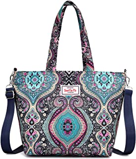 Tote Bags For Women Nylon Bag With Adjustable Strap Big Handbag Travel Luggage
