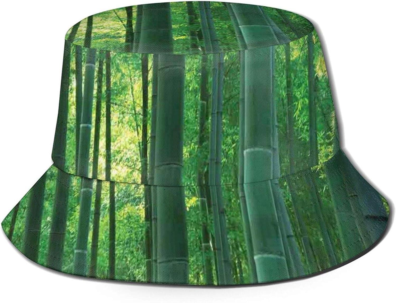 Unisex Bucket Hat for Women & Men, Reversible Fisherman Hats Polyester Packable Summer Travel Beach Sun Caps