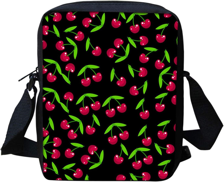 WELLFLYHOM Kids Cross Body Bags for Girls Boys Travel School Shoulder Handbag Small