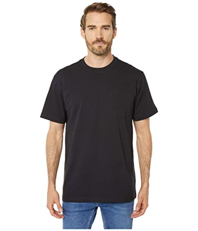 Filson Short Sleeve Outfitter Solid One-Pocket T-Shirt (Faded Black) Men