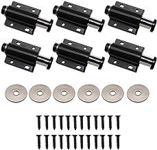 YFaith Magnetische druksnappers, 6 stuks, magnetisch, veersnappers, drukdeuropener, magnetische ontgrendelingsrepen, voor ...