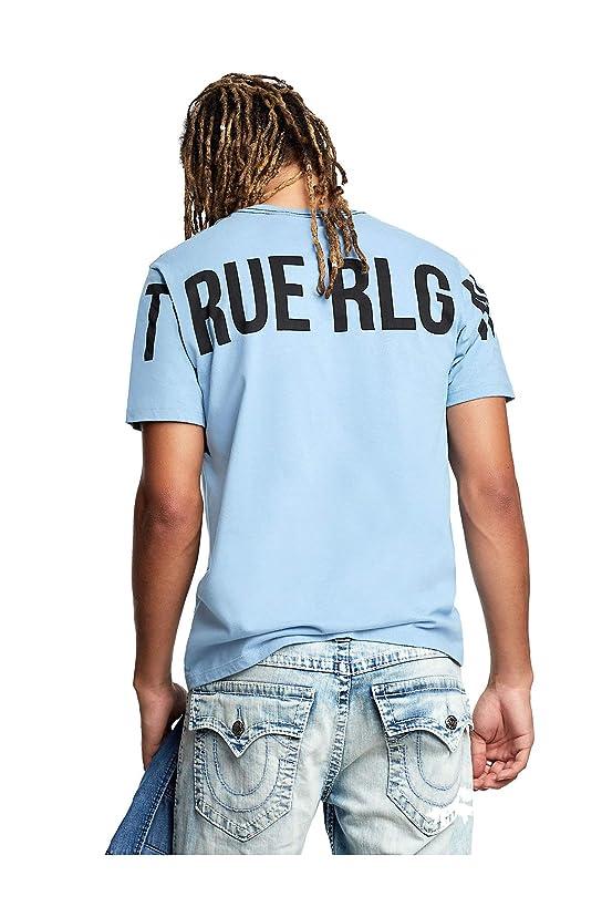 True Religion Men's True RLGN Logo Crew-Neck Tee T-Shirt