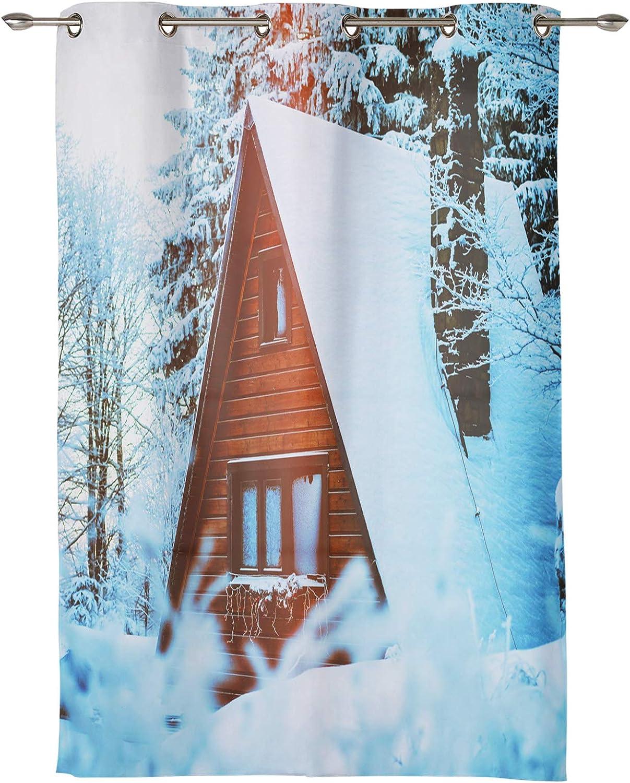 EZON-CH Window Draperies Grommet Curtain Outlet sale feature Living Cheap mail order sales Room Pane