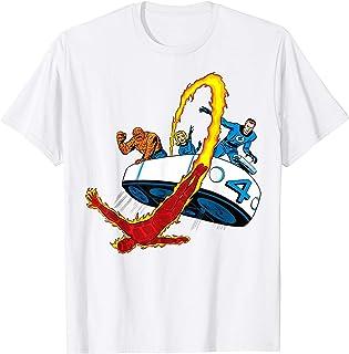Marvel Fantastic Four Retro Fantasticar Team T-Shirt