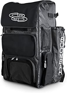 Boombah Superpack Bat Pack -Backpack Version (no Wheels) - Holds up to 4 Bats - for Baseball or Softball