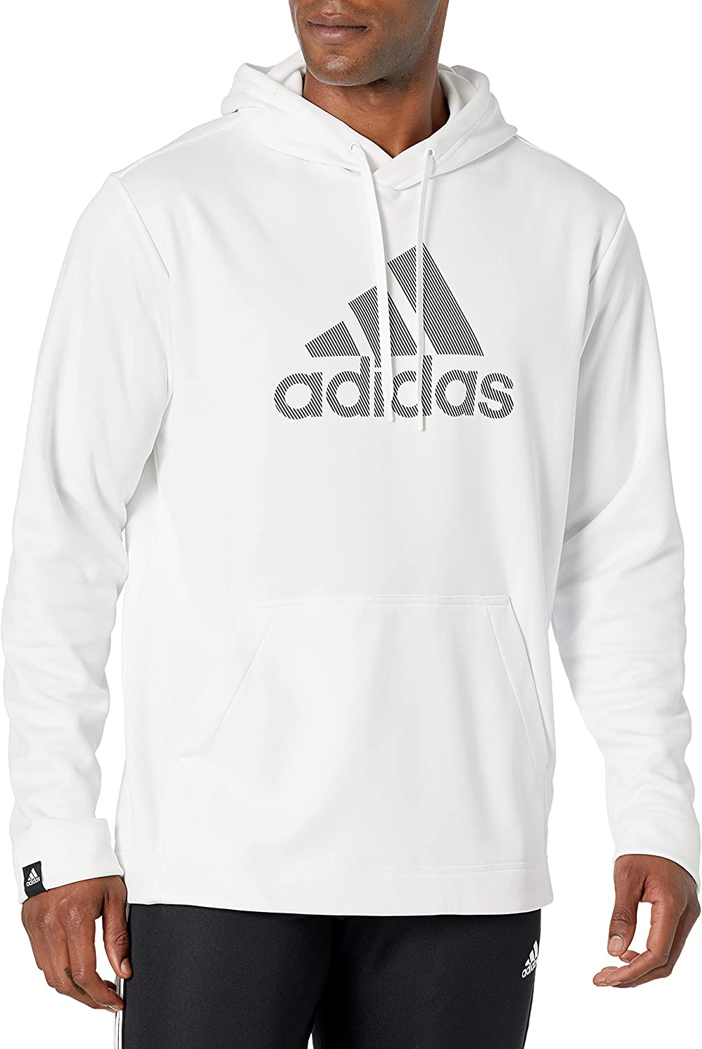 adidas Men's Game and Go Pullover Hooded Sweatshirt