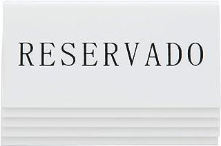 SECURIT Tableau Noir de Table en Espagne réservation, Supports, Lot de 5