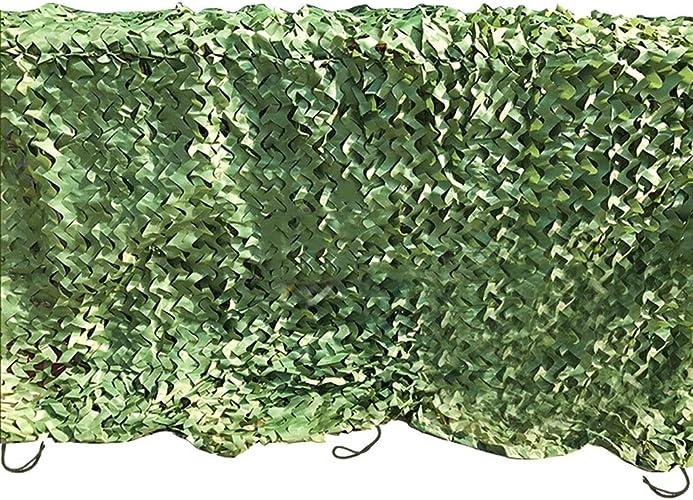 HUIQI Bache de Prougeection FJZ Camouflage Filet Camouflage Filet Jungle Defense Aerial Tactics Camouflage Filet Camouflage Crème Solaire Crème Solaire Bache à usages Multiples