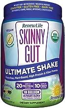 Renew Life Adult Probiotic - Skinny Gut Ultimate Shake Dietary Fiber Supplement - 10 Billion CFU - Vanilla, 13.4 Ounces