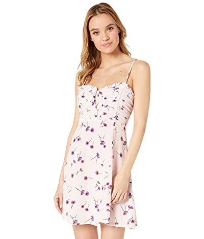 ASTR the Label Ryder Dress (Purple Poppy Floral) Women