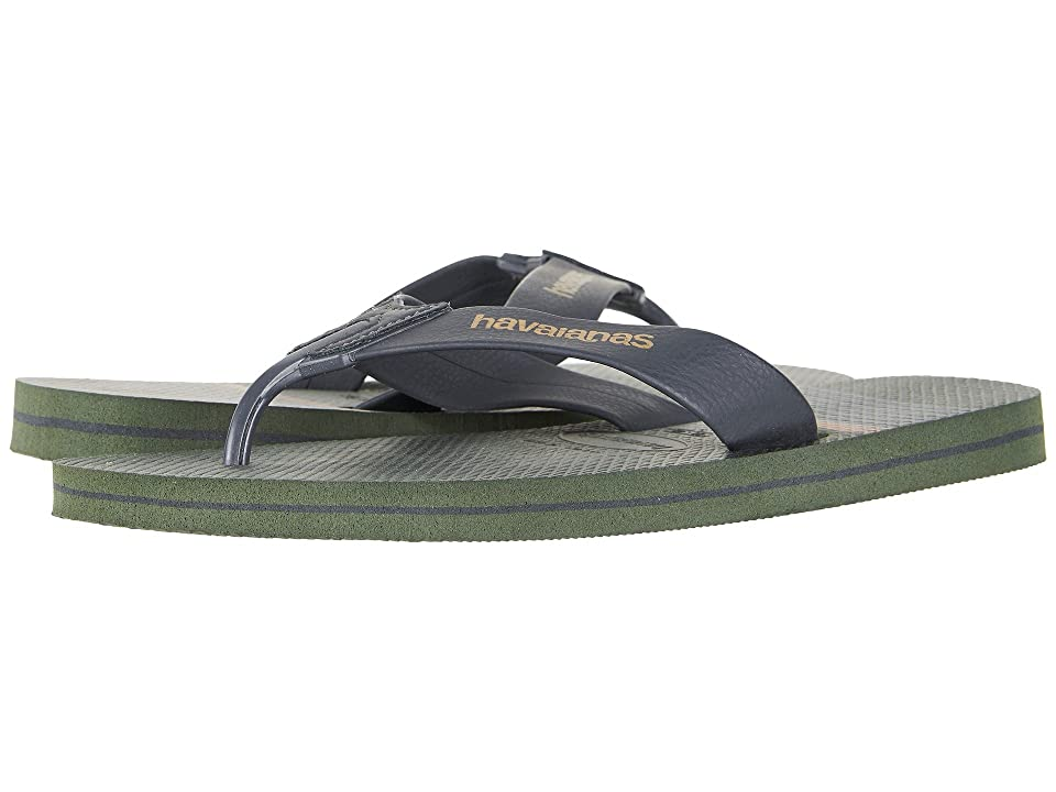 Havaianas Urban Craft Flip Flops (Green Olive) Men