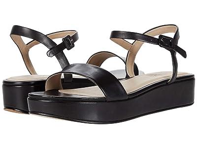 ABLE Larissa Platform Sandal (Black) Women